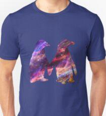 Space - Penguin Couple Unisex T-Shirt