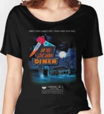 Say You Love Satan 80s Horror Podcast - Blood Diner Women's Relaxed Fit T-Shirt