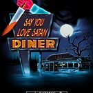 Say You Love Satan 80s Horror Podcast - Blood Diner by sayyoulovesatan