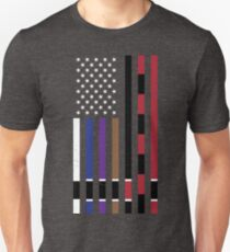 BJJ Stars and Stripes Unisex T-Shirt