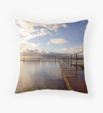 Cronulla Rock Pool Throw Pillow