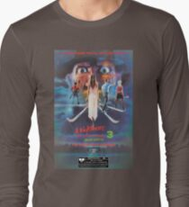 Say You Love Satan 80s Horror Podcast - A Nightmare on Elm Street 3 - Dream Warriors Long Sleeve T-Shirt