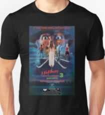 Say You Love Satan 80s Horror Podcast - A Nightmare on Elm Street 3 - Dream Warriors T-Shirt