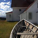 Monhegan Island Lighthouse by Erin Kroll