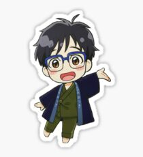 Yuri!!! on Ice - Cute Yuuri Chibi Sticker
