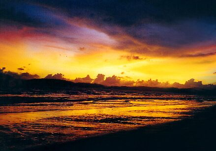 sunset by emsanders
