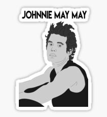 Johnnie May May Sticker