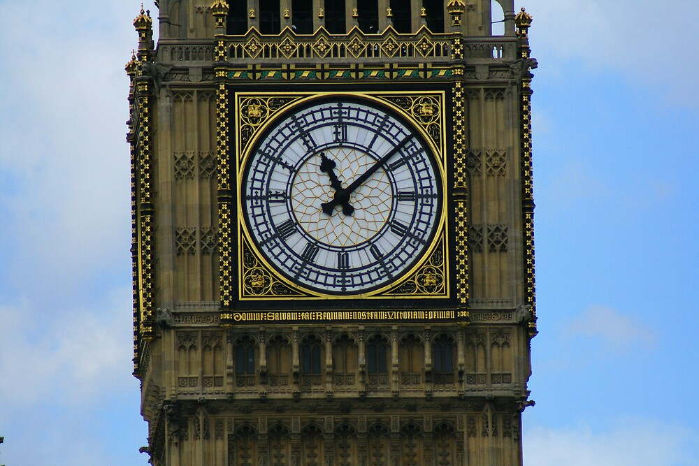 Big Ben Clockface by epc2007