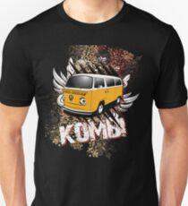 Two Tone Orange White Kombi T-Shirt
