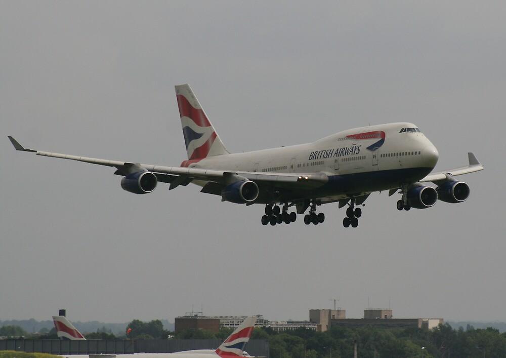 British Airways 747 by epc2007