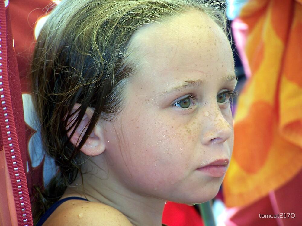 little swimmer  by tomcat2170
