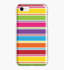 Stripey Colours iPhone Case/Skin