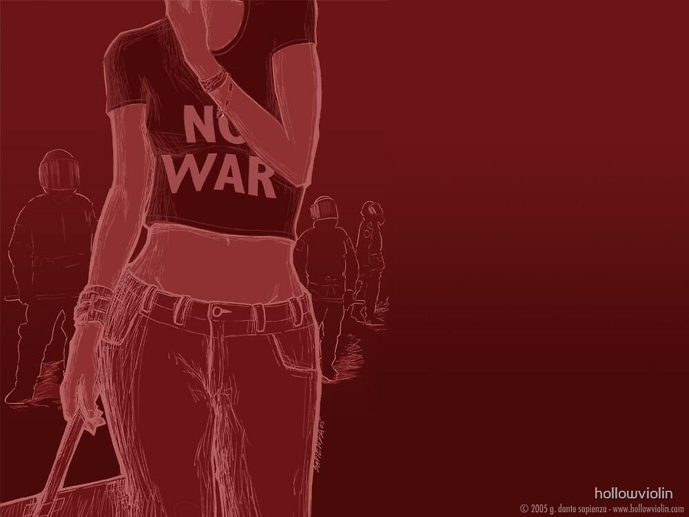 no war by hollowviolin