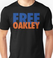 Free Oakley (Blue/Orange) Unisex T-Shirt