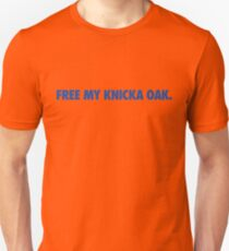 Free My Knicka Oak (Blue) Unisex T-Shirt