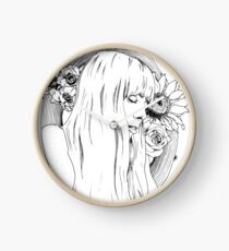 Joni Mitchell Clock