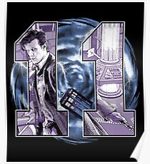 Number 11 Poster