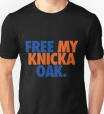 Free My Knicka Oak (Blue/Orange) T-Shirt