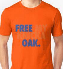 Free My Knicka Oak (Blue/Orange) Unisex T-Shirt