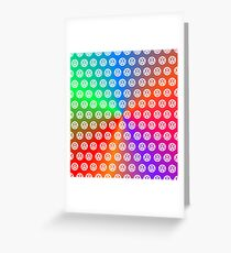 Colored VW Greeting Card