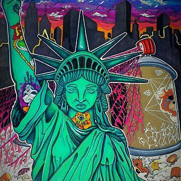 Damaged Liberty by ARTbySTRW