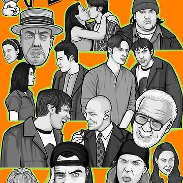 Mallrats 20th anniversary art by gjnilespop