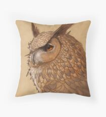 Hibou Throw Pillow