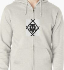HOLLOW SQUAD Zipped Hoodie