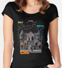 Clue Women's Fitted Scoop T-Shirt