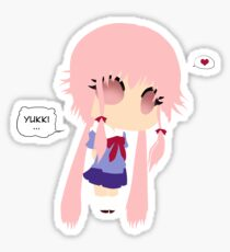 Gasai Yuno Sticker