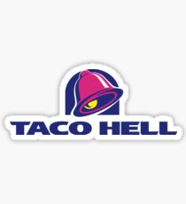 taco hell Sticker