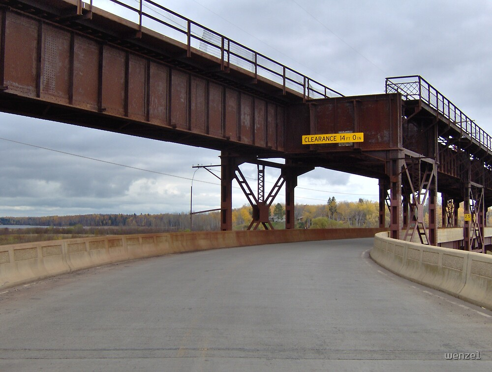 Train Car Bridge by wenze1
