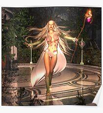 Elven Fire Poster