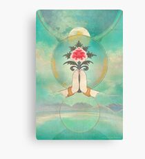 Divine Offering (Anjali Mudra) Canvas Print