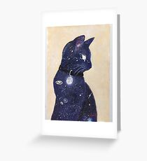 Catstronomy Greeting Card