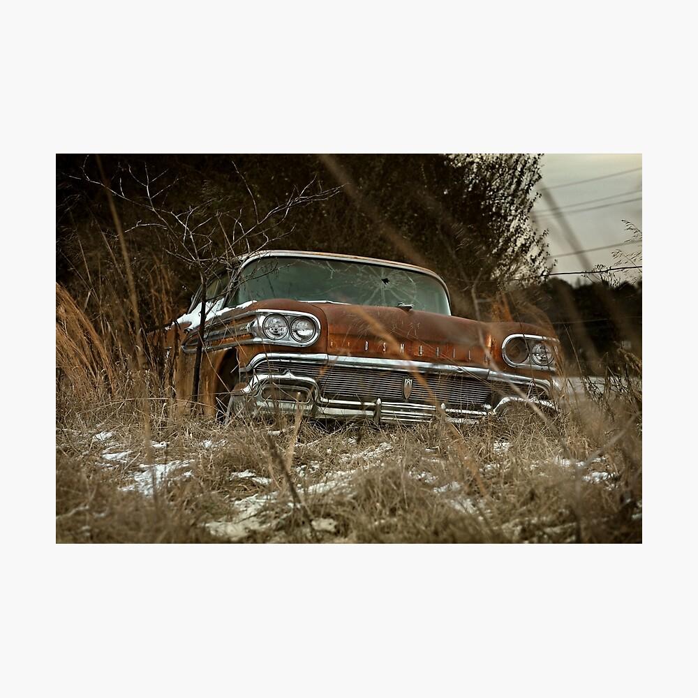Abandoned 1958 Oldsmobile Rocket 88