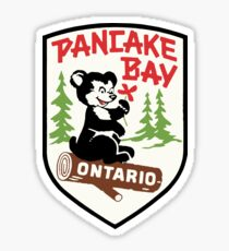 Pancake Bay Provincial Park Ontario Vintage Travel Decal Sticker
