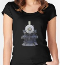 1899 steam locomotive Women's Fitted Scoop T-Shirt