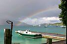 Rainbow's Boats by DARRIN ALDRIDGE