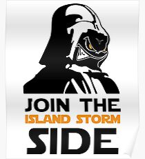 Join The Island Storm Side Poster