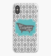 "Downton Abbey ""Her Ladyship's Soap"" iPhone Case"