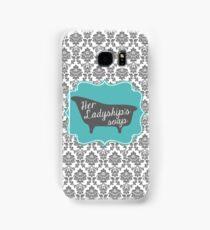 "Downton Abbey ""Her Ladyship's Soap"" Samsung Galaxy Case/Skin"