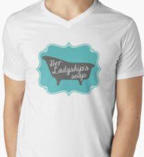 "Downton Abbey ""Her Ladyship's Soap"" Mens V-Neck T-Shirt"