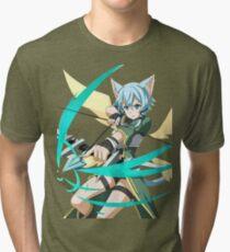 Sinon - Sword Art Online - Anime Tri-blend T-Shirt
