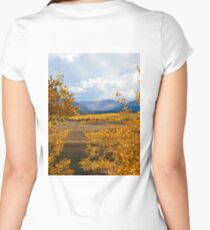 Colorado Autumn  Women's Fitted Scoop T-Shirt