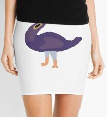 Trash Doves  Mini Skirt