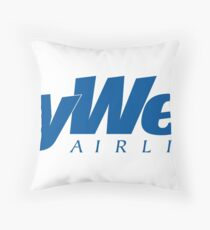 Skywest Airlines Logo Throw Pillow