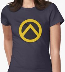 Identarian Logo Womens Fitted T-Shirt