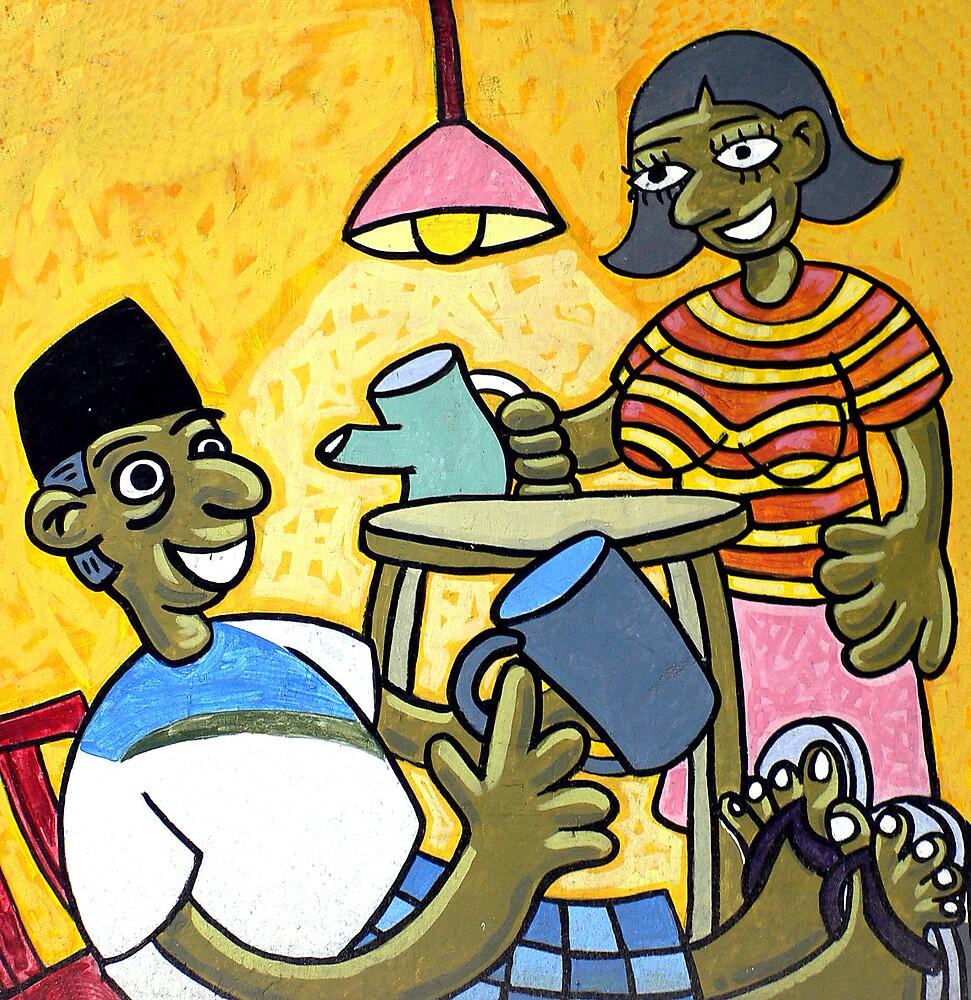 Happy Family by mbanyak
