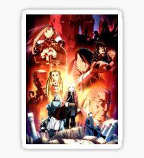 Fullmetal Alchemist: Brotherhood #1 Sticker